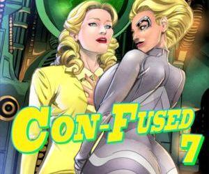 Comics Con Fused 07- Mind Control lesbian