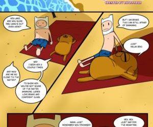 Comics Adventure Time- Gotta Stretch That.. toon
