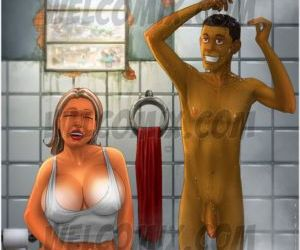 Brazilian Slumdogs 2- Sharing Bathroom
