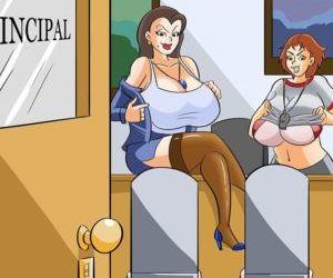 Comics School Kinkj and HiJinks, milf , glassfish  incest comics
