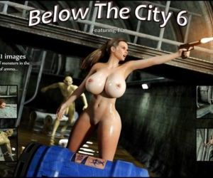 Comics Blackadder- Below The City 6, monster  blowjob