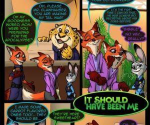 Comics Zootopia- It Should Have Been Me full color