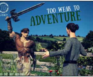 Comics TGTrinity- Too Weak to Adventure transformation