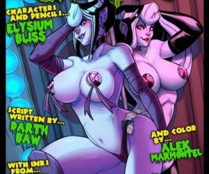 Comics Jabcomix- The Creepies 4, blowjob  family