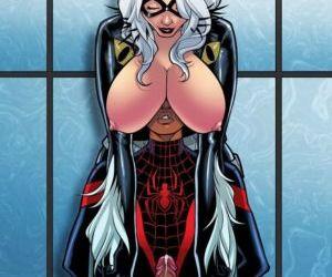 Comics Miles Morales- Ultimate Spider Man 3, anal  cumshot