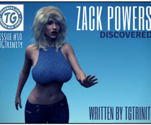 Comics TGTrinity- Zack Powers 10, transformation  big-boobs