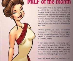 Comics Jab- Milf Magazine, family  full color