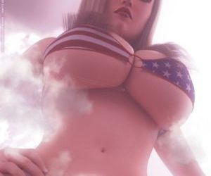 Comics Unseen Harbinger- Giantess and the.. big-boobs