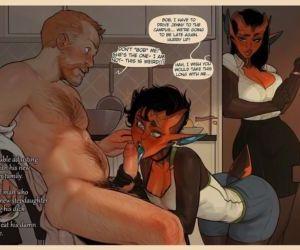 Comics Incase- Puazi CYOA, anal , full color  family