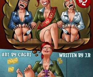 Comics Cagri- Barefoot Heights 2 full color