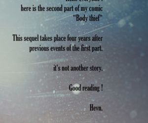 Comics Hevn- Body Thief 2, transformation  full color