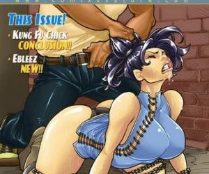 Comics 9 Super Heroines – The Magazine 5, forced  big-boobs
