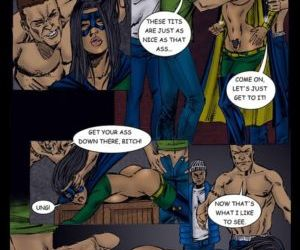 Comics 9 Super Heroines – The Magazine 8 -.. forced