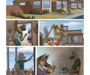 Comics The Neighbors Wife, cheating  furry