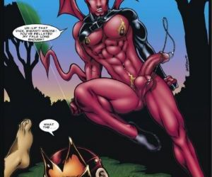 Comics The Incredibly Hung Naked Justice 1 -.., yaoi  All