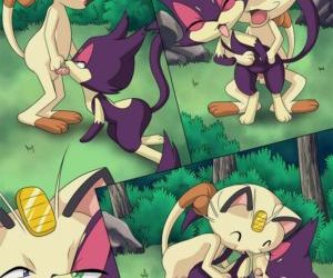 Comics The Cats Meowth - part 2, pokemon  furry