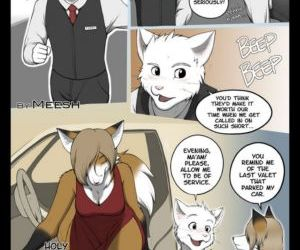 Comics The Valet And The Vixen 1 furry