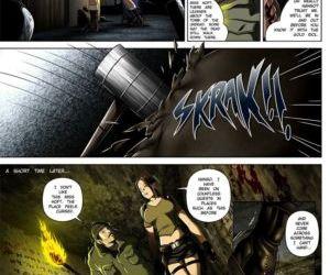 Comics Sara Hoft 1 gangbang