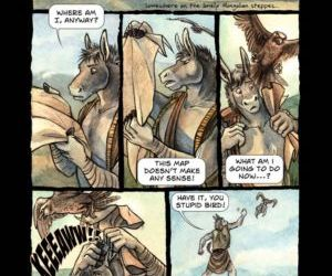 Comics Steppe In The Right Direction furry