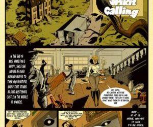 Comics Spirit Calling cartoon rape