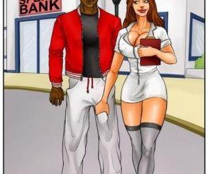 Comics Spermbank 1 black & interracial