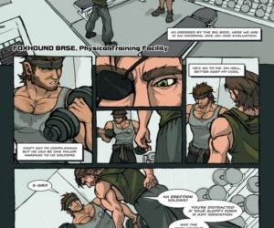Comics Solid Snake And Naked Snake yaoi