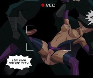 Comics Slave Crisis 3 - Triple Threat - part 2, gangbang  justice league