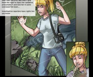 Comics Return Of The Gator Girl, transformation