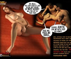 Comics Ranch - The Twin Roses 2, threesome , brother  sister