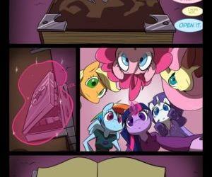 Comics Night Mares 1, my little pony  furry