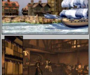 Comics Pirates vs Ninjas, threesome  futanari x male