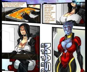 Comics Mass Effect 1 yuri