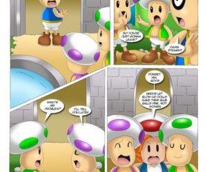 Comics Mario Project 3, palcomix  orgy