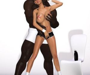 Comics Maria Interracial 3d