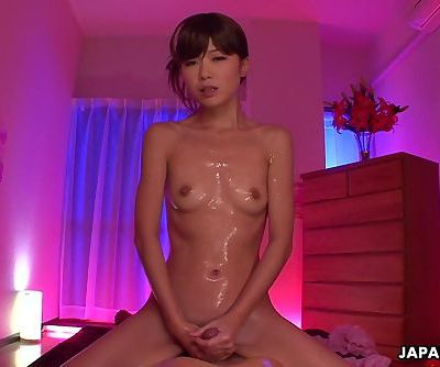 Slutty Asian babe getting her man..