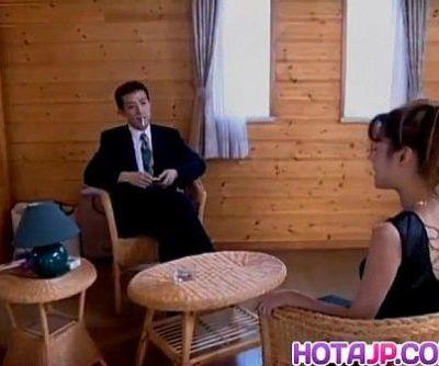 Keiko Sakurada filmed while..