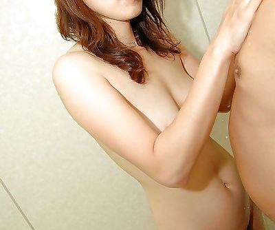 Asian MILF has some wet and dirty..