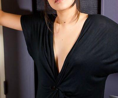 Asian solo model..