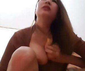 Chinese Village Hooker at Work - Busty Milf