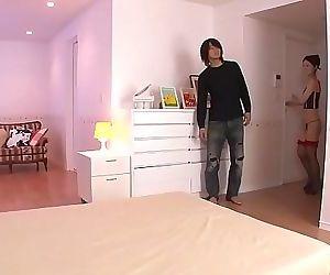 Ann Yabuki enjoys the dick in..