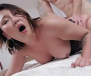 Big Tits Asian Jade Luv Cant Get..