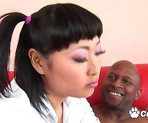 Asian Teen Yuki Mori Seduces A..