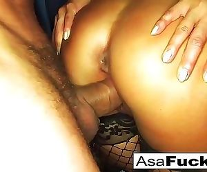Ring-light Anal with Toni Ribas..