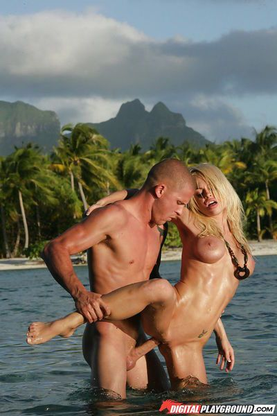 Jesse Jane was fucked pretty hard in her stunning juicy pussy - part 2