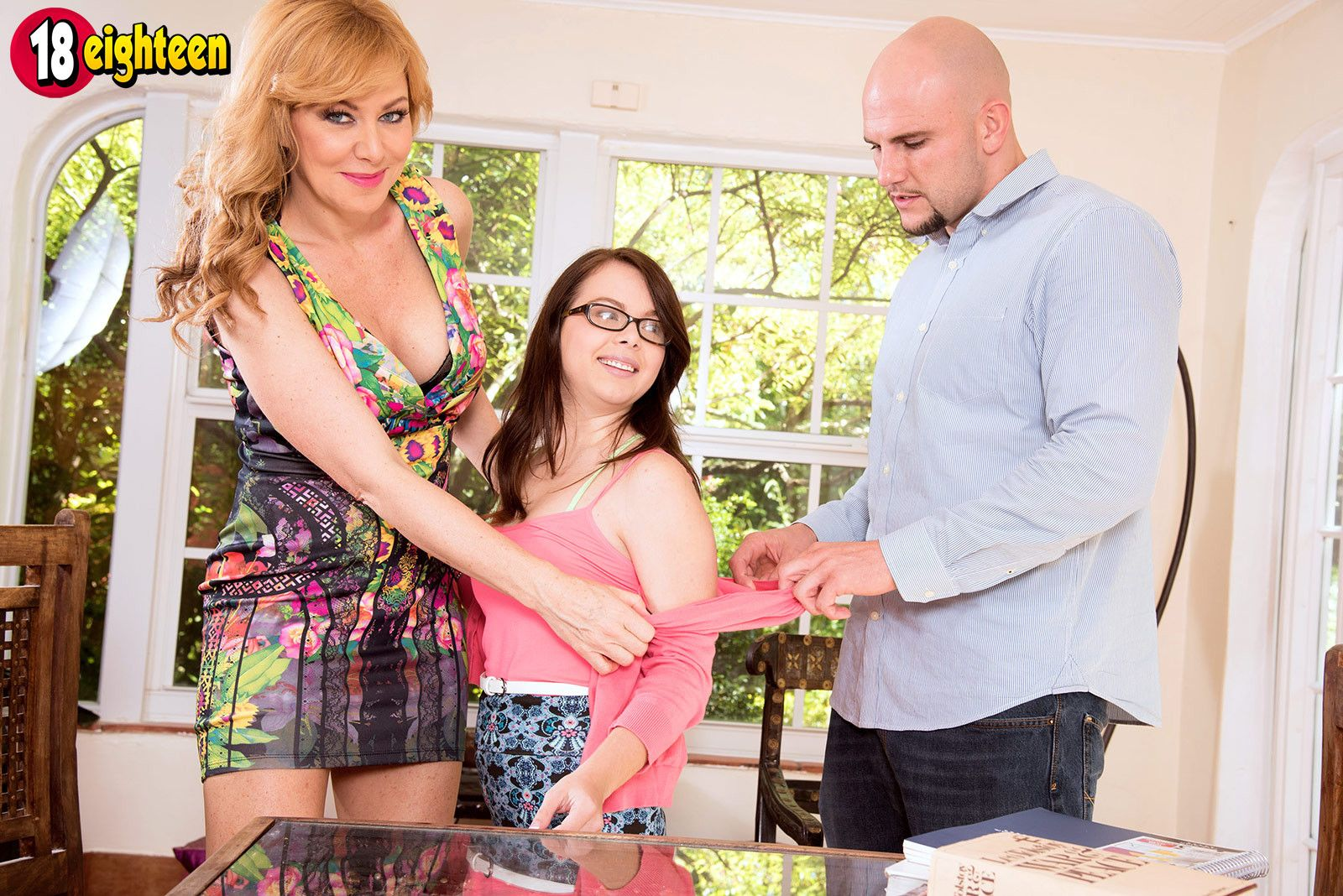 Time for sex tutor sasha sean to turn out yet another inexperienced teen