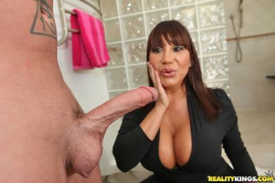 Sex crazed asian MILF Ava Devine gets screwed hard in the shower