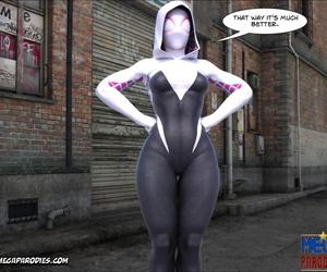 Mega Parodies Comics Collection Spider Gwen 3 - part 3