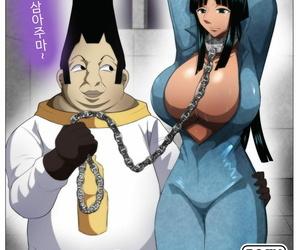 Q Doujin Torawareta Bakunyuu Kaizoku no Matsuro One Piece Korean