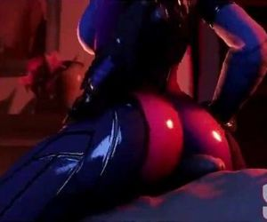 Widowmaker - Big Breasts - Naughty Machinima - 2 min