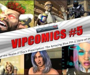 VipComics #5β Docs Prescription: The Amazing Blue Pill
